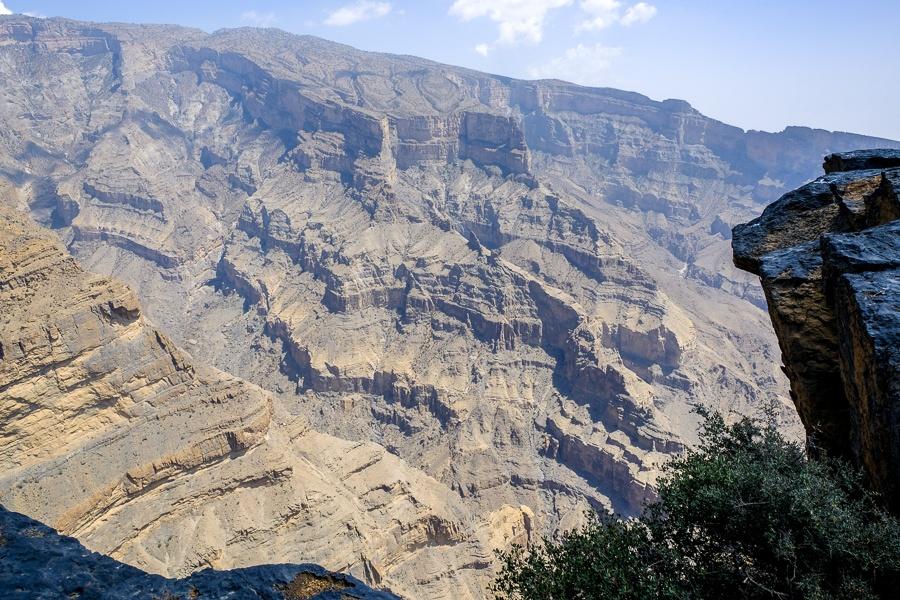 Wadi Ghul, the Grand Canyon of Oman