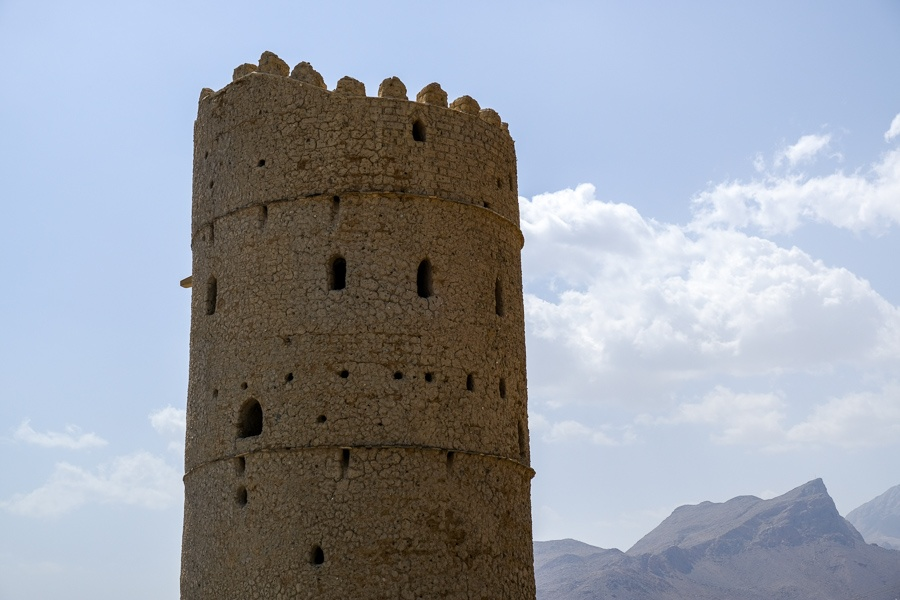 Old tower in the Omani countryside
