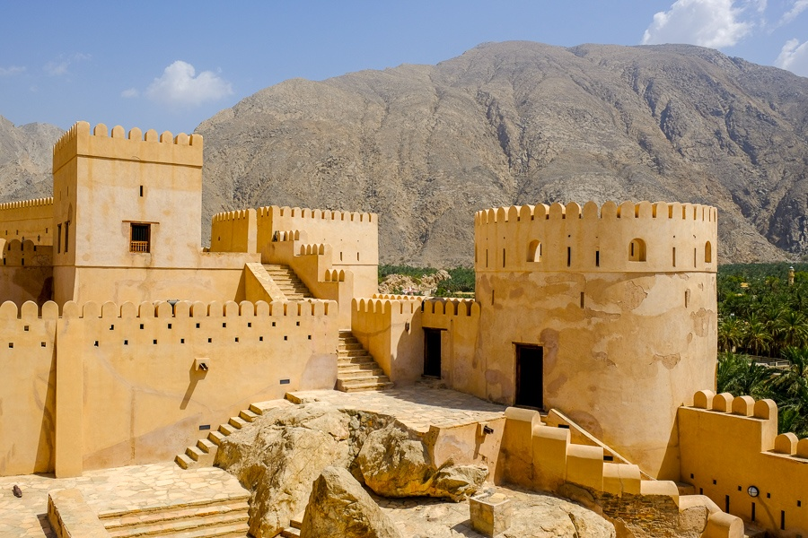 Nakhal Castle Fort in Oman