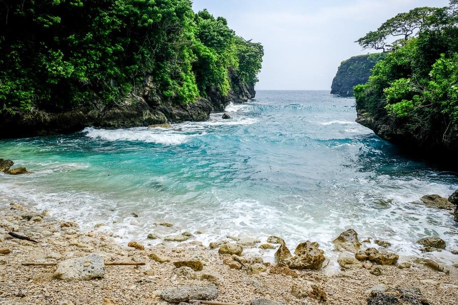 Bulian Beach in Nusa Penida Bali