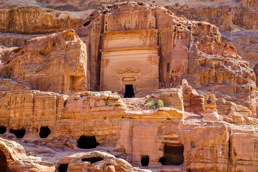 Tomb of Unayshu in Petra, Jordan