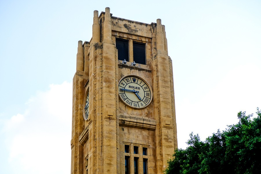 Al-Abed Clock Tower in Beirut, Lebanon