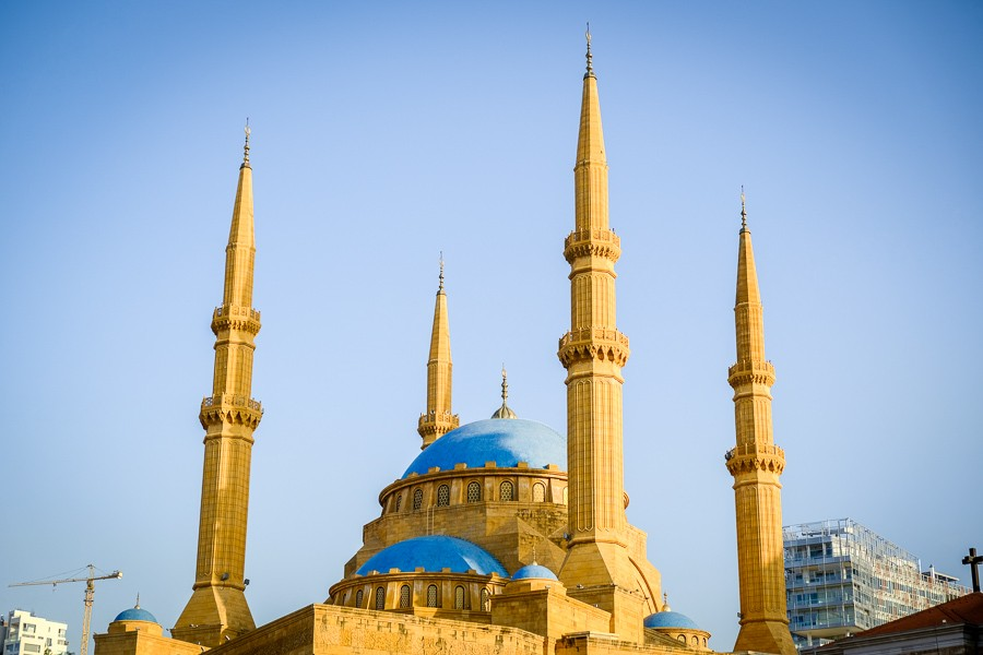 Mohammad AlAmin Mosque in Beirut, Lebanon