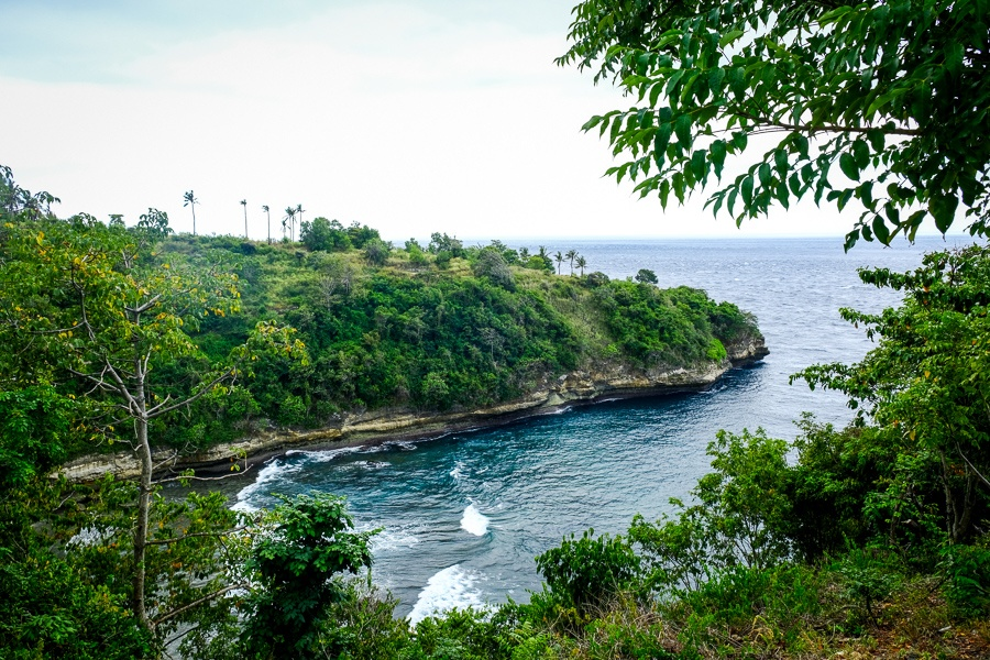 Sebele Beach in Nusa Penida, Bali