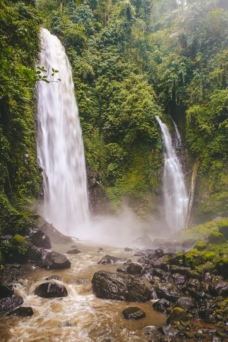 Kali Twin Waterfall near Manado, Sulawesi