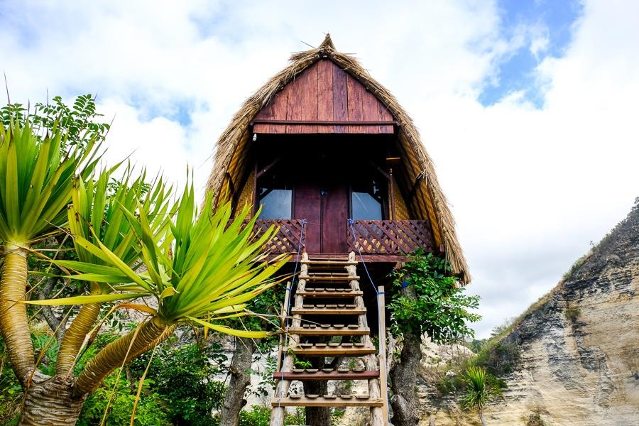 New treehouse in Nusa Penida Bali