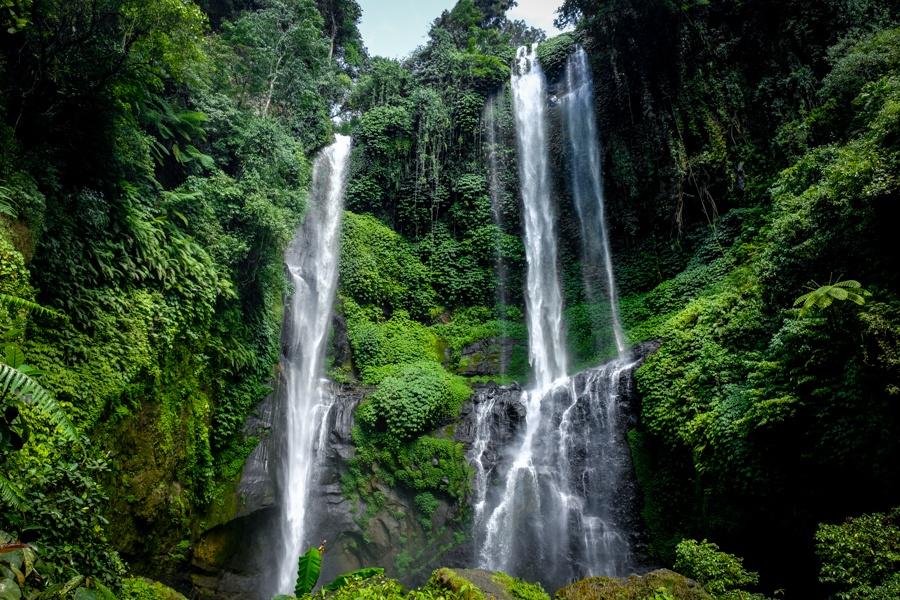 Sekumpul Waterfall in Bali