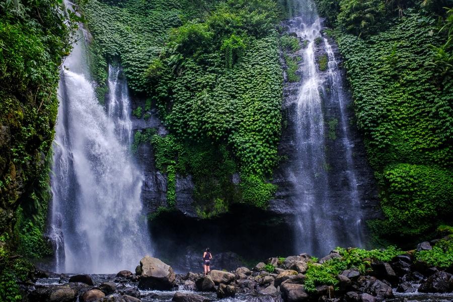 Fiji Waterfall in Bali