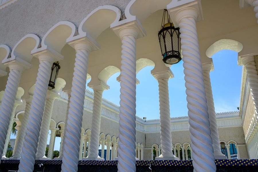 Hallways at the Omar Ali Saifuddien building