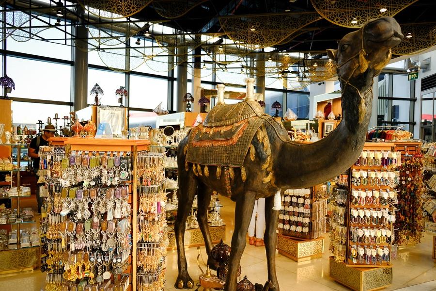 Camel statue at a souvenir shop in Abu Dhabi, UAE