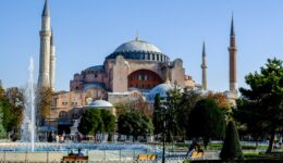 Hagia Sophia cathedral and mosque in Istanbul