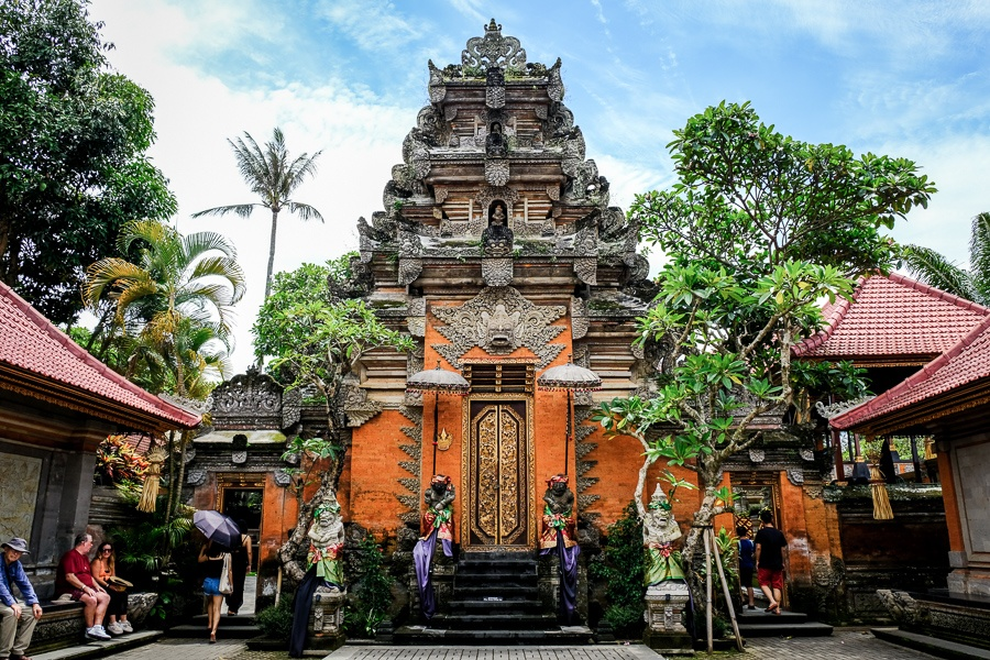 Ubud Royal Palace in Bali