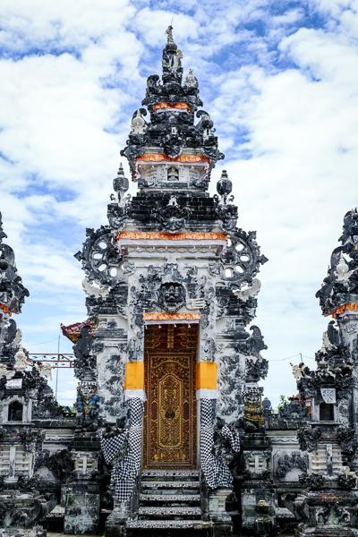 Temple doorway at Pura Paluang in Nusa Penida, Bali