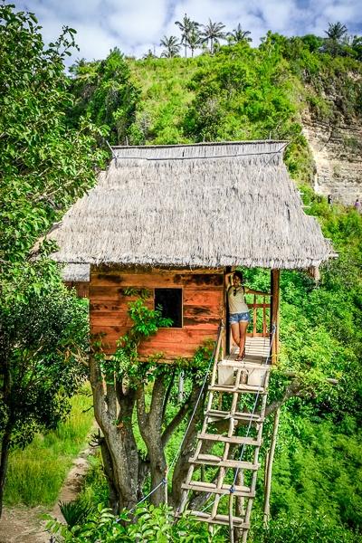 Nusa Penida treehouse in Bali