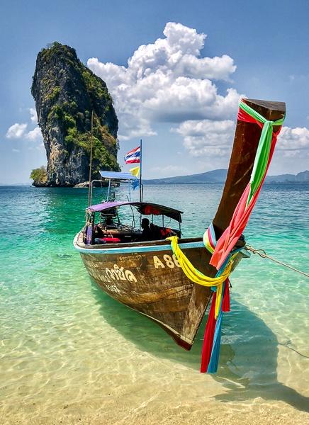 Koh Poda island in Krabi, Thailand