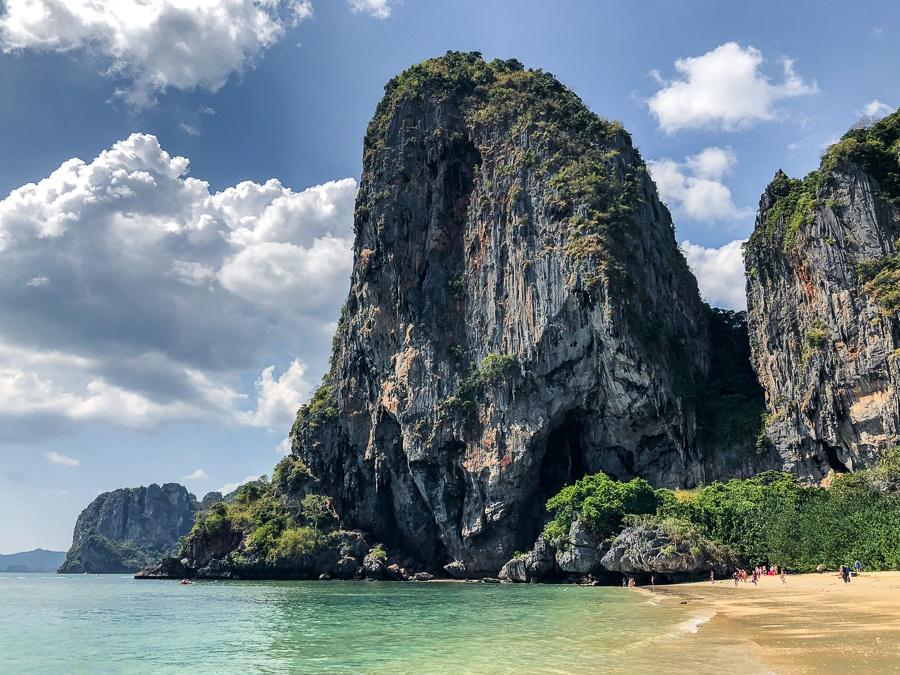 Ao Phra Nang Beach in Krabi, Thailand