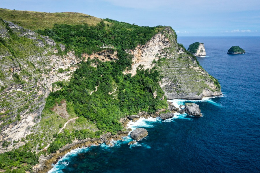Manta Point Overlook Nusa Penida Bali