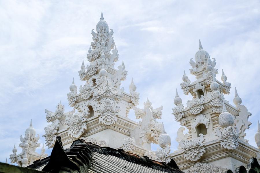 White temple in Nusa Penida