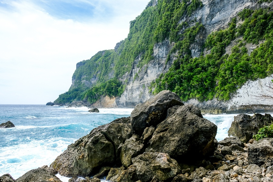 Batu Siha Beach in Nusa Penida Bali