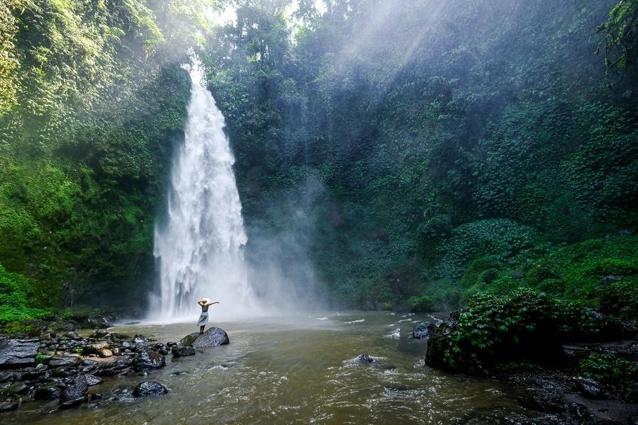 Nungnung Waterfall in Bali