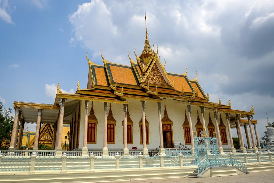 Phnom Penh Silver Pagoda in Cambodia