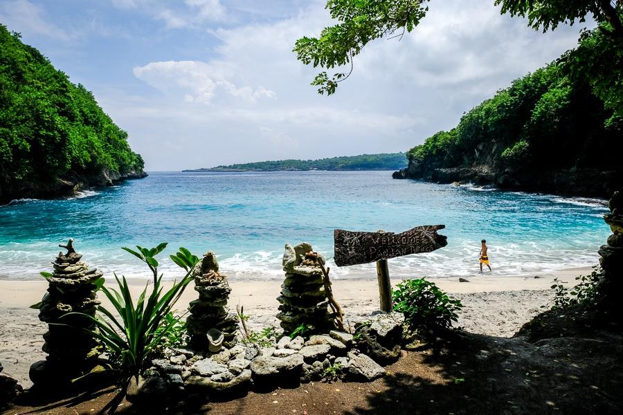 Pandan Beach in Nusa Penida Bali