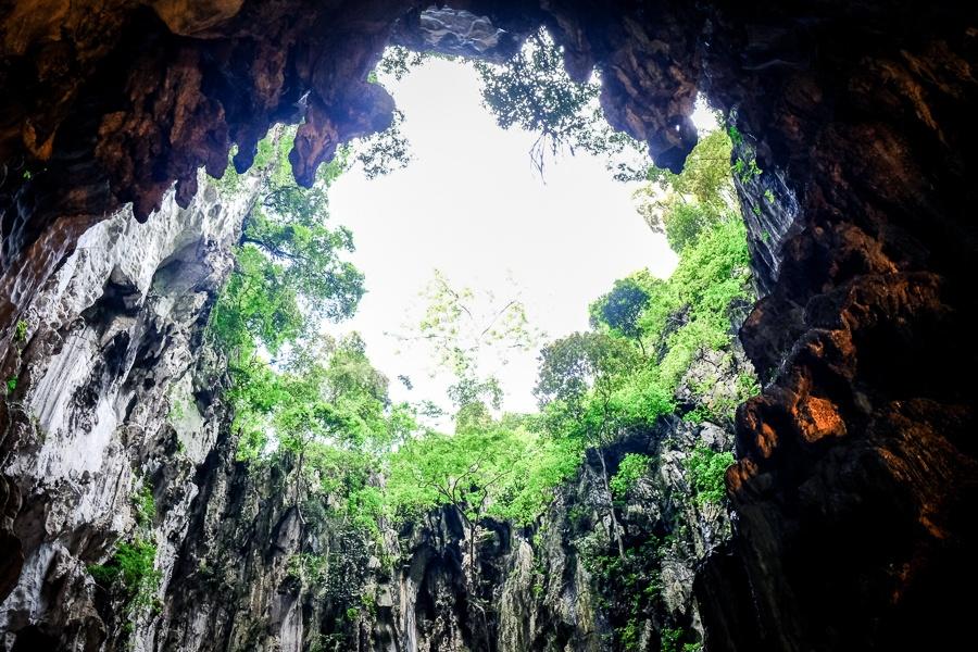 Batu Caves ceiling in Malaysia