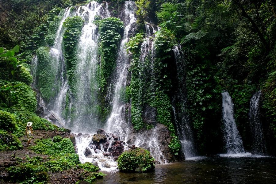 Banyu Wana Amertha Waterfall in Bali