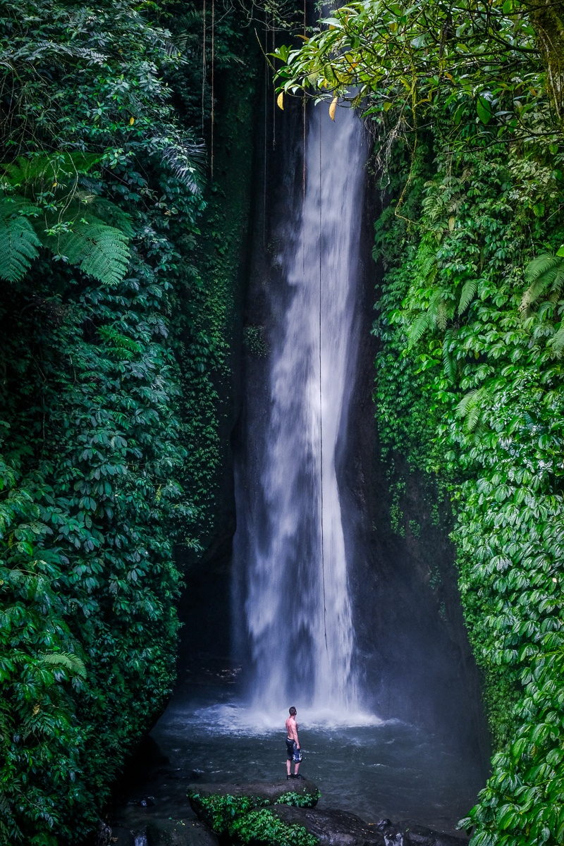 Leke Leke Waterfall in Bali