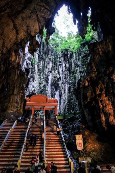 Batu Caves temple in Malaysia