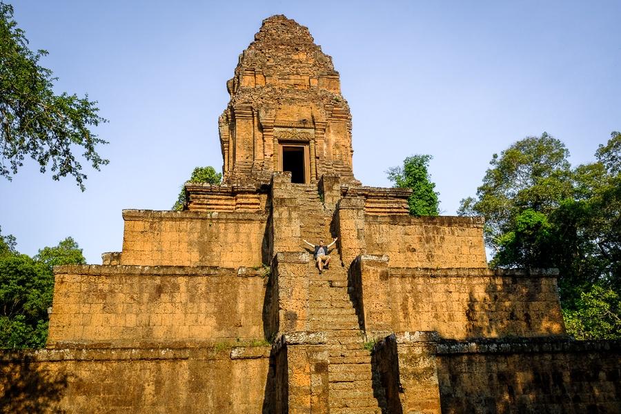 Baksei Chamkrong orange temple