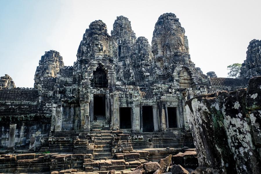 Bayon temple doorways