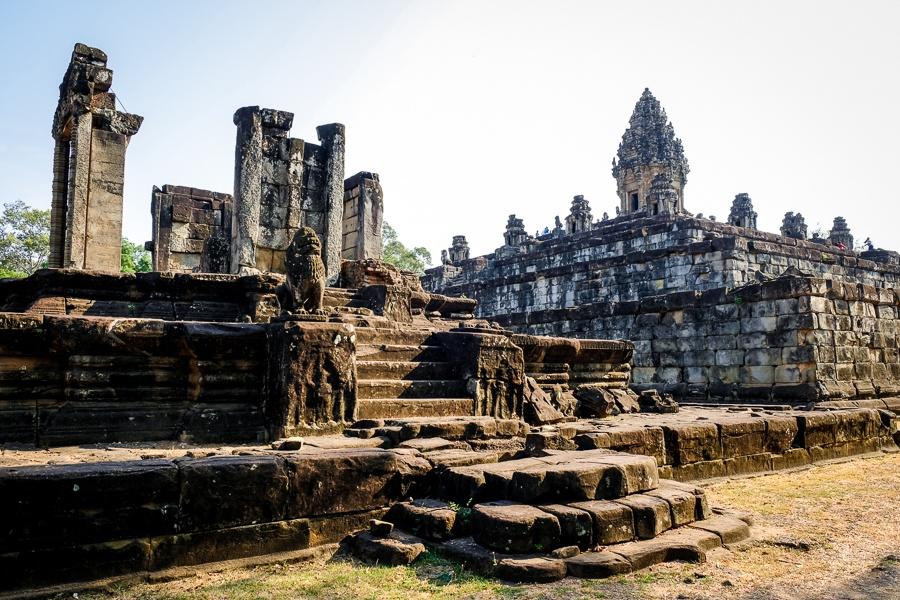 Bakong Temple ruins