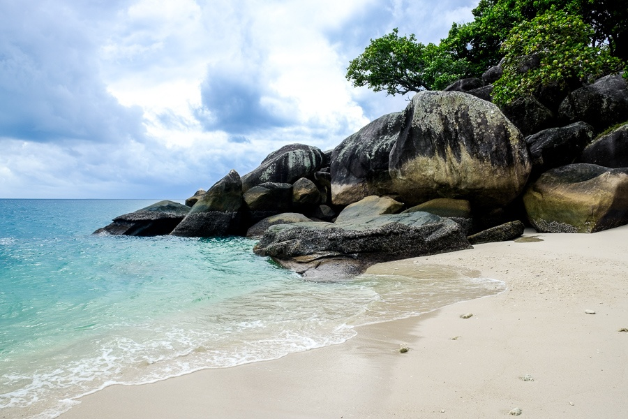 Nudey Beach boulders on Fitzroy Island in Australia