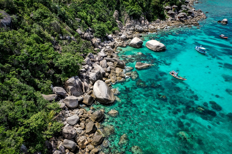 Shark Bay Koh Tao in Thailand