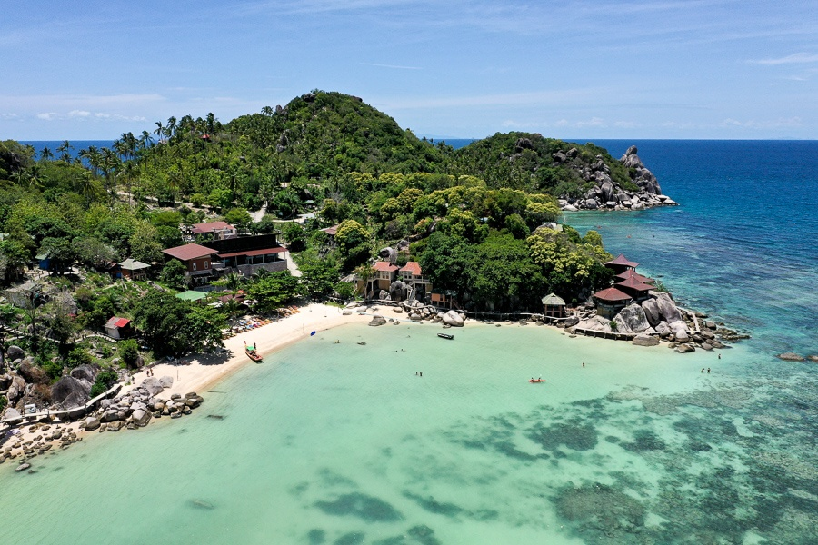 Taa Toh Bay in Koh Tao