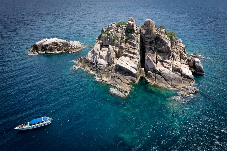 Shark Island in Koh Tao