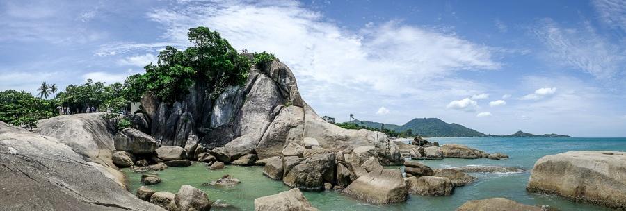 Giant rocks panorama