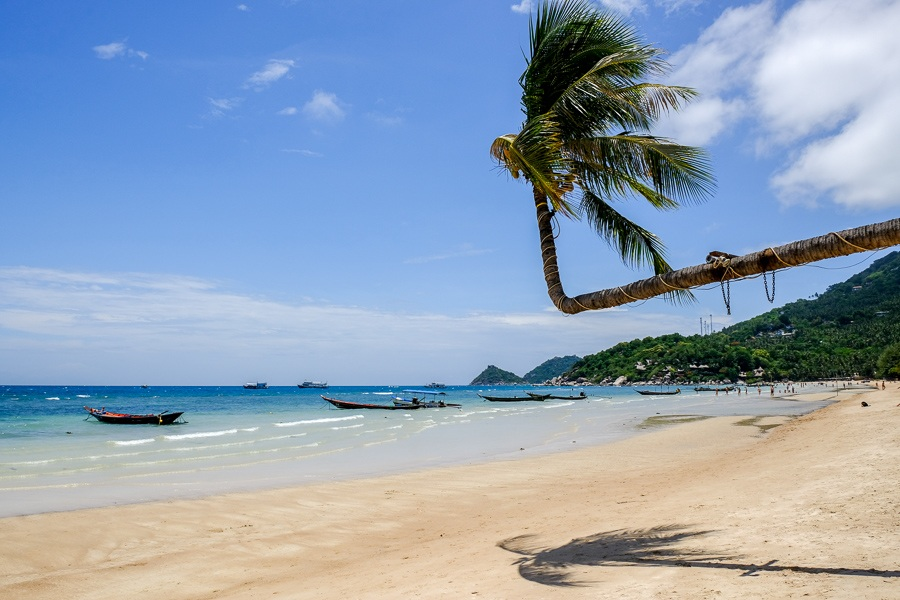 Sairee Beach in Koh Tao