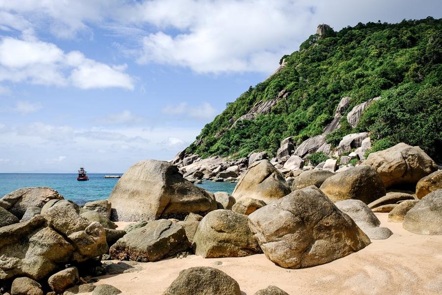 Ao Tanote Bay in Koh Tao Thailand