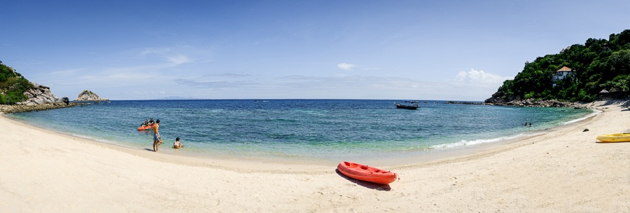 Panorama of Sai Daeng Beach