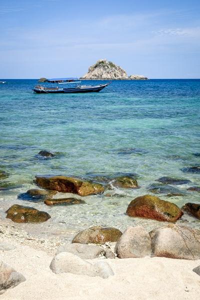 Sai Daeng Beach in Koh Tao Thailand