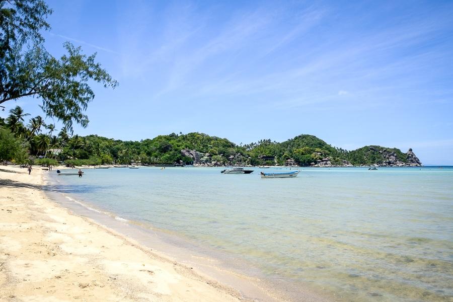 Chalok Baan Kao Beach in Koh Tao Thailand