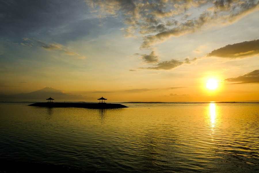 Sanur Beach Sunrise in Bali