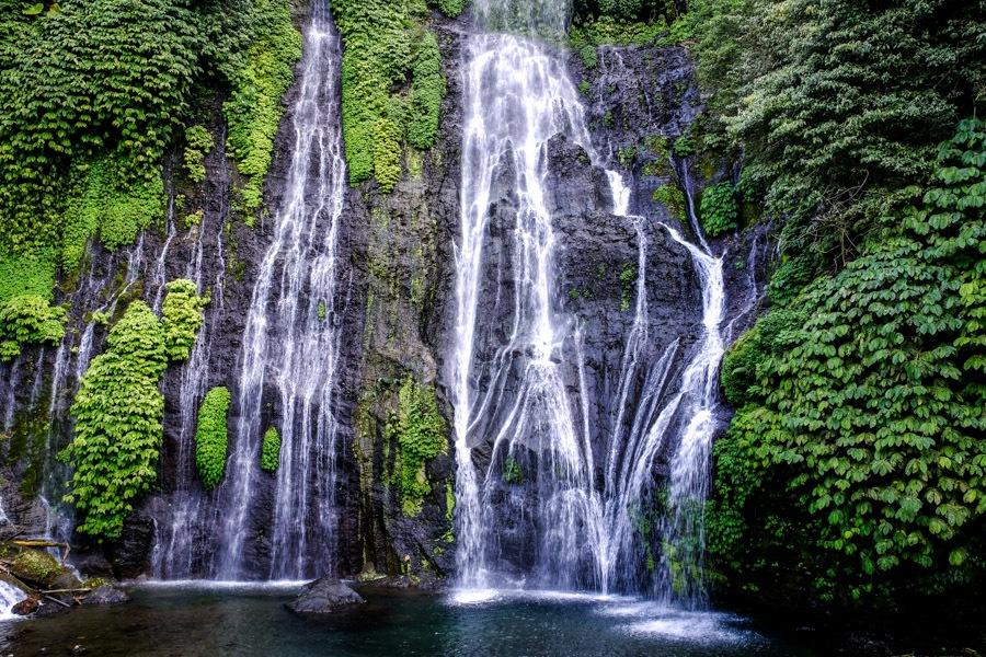 Banyumala Waterfall North Bali Banyumala Twin Waterfalls
