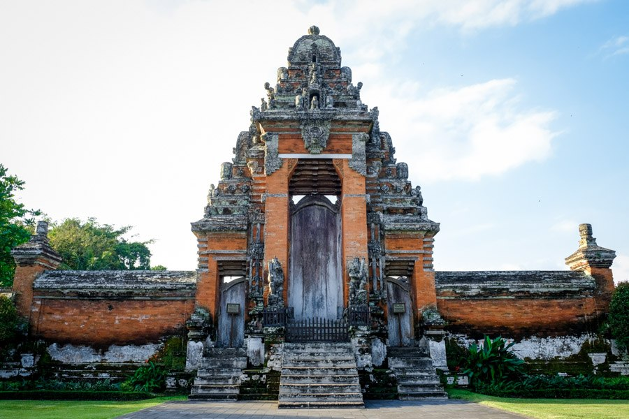 Pura Taman Ayun Temple In Mengwi Bali