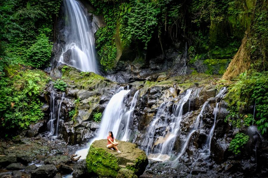 Pengibul Waterfall in Bali