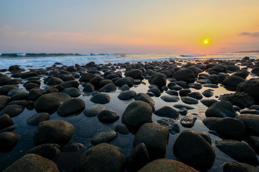 Yeh Leh Beach Sunset
