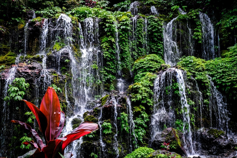 Bhuana Sari Waterfall in Bali