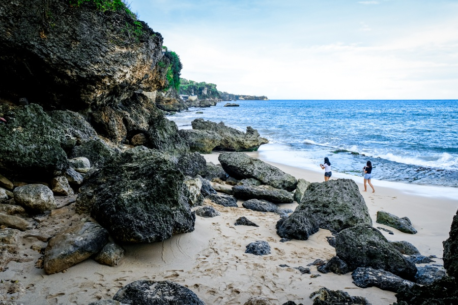 Tegal Wangi Beach in Bali